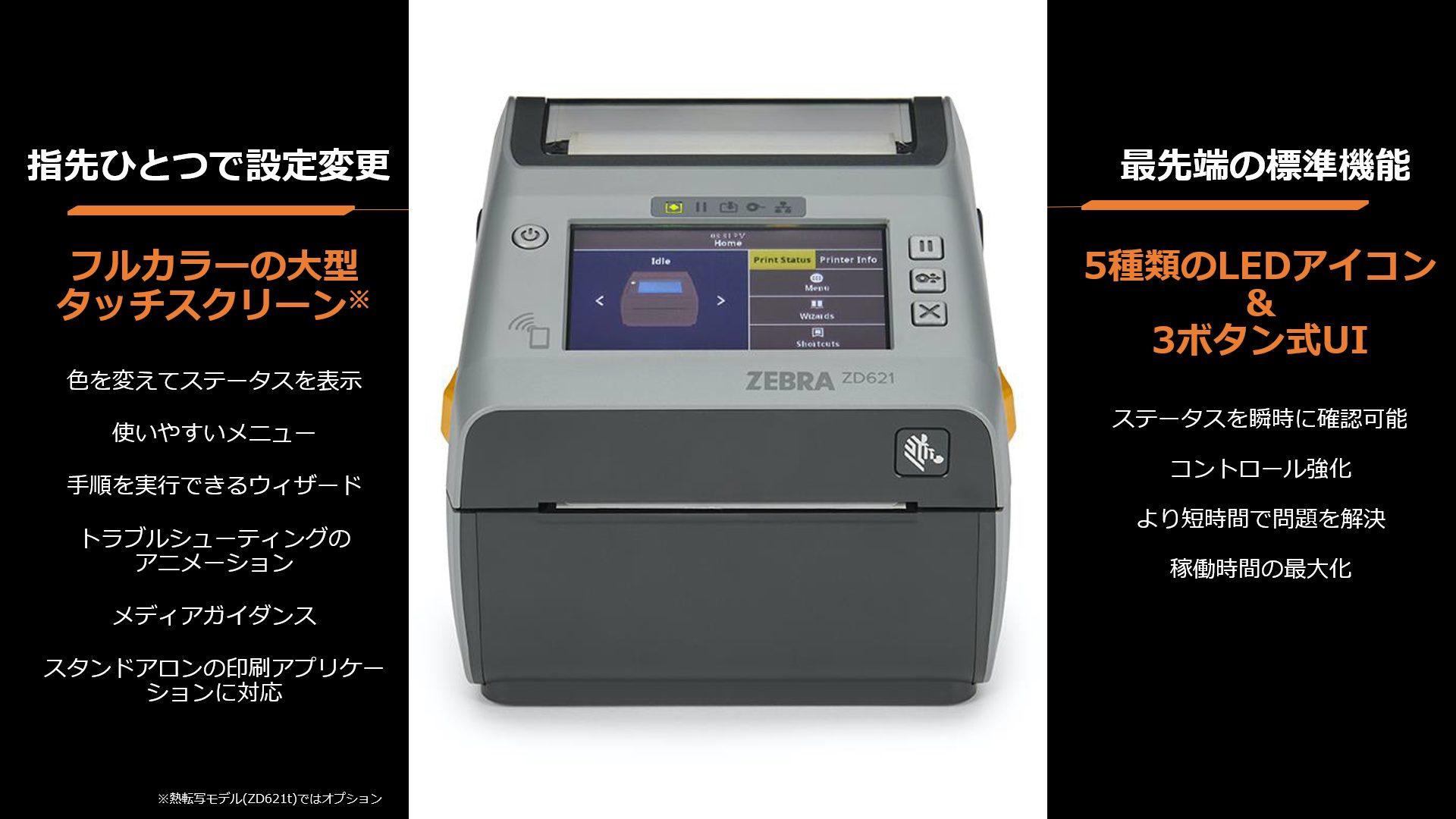 Zebra ZD621